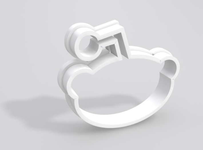 Reddit Cookie Cutter 3d printed Sample render