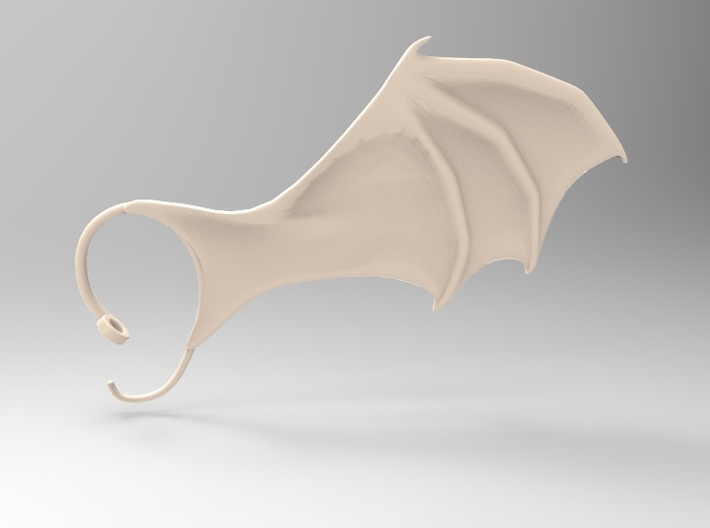 Air cuffs - Dragon Wings 3d printed