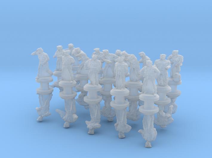 1-240 US Navy Dungaree Set 1 3d printed