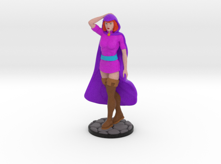 Sheila of D&D 6inch Statue 3d printed