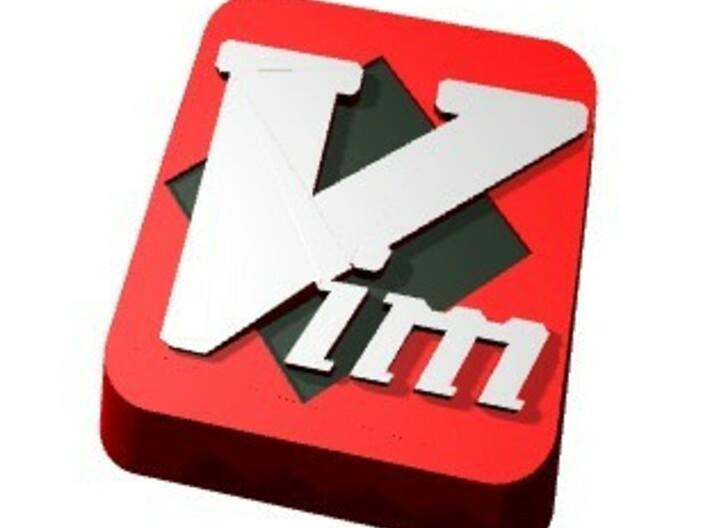 Color Vim Keycap 3d printed