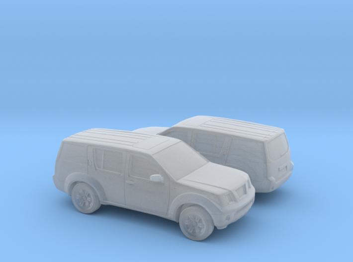 1/160 2X 2004-13 Nissan Pathfinder 3d printed