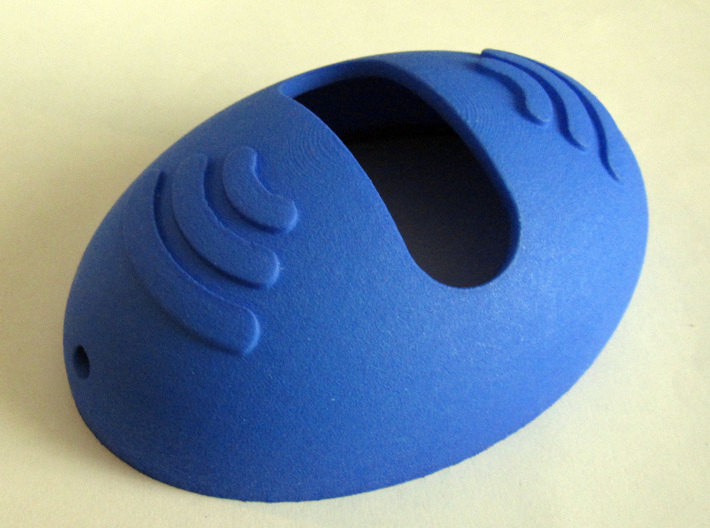 Maxbotix XL-MaxSonar-EV Ultrasonic Sensor Housing  3d printed Maxbotix XL-MaxSonar-EZ sensor housing