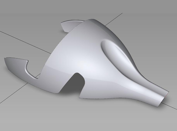 I-phone7 Stand 3d printed CAD image