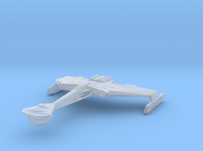 Klingon D4 1/3125 3d printed