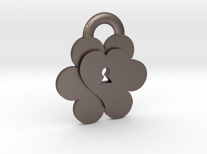 Keys to Kindness Pendant 3d printed