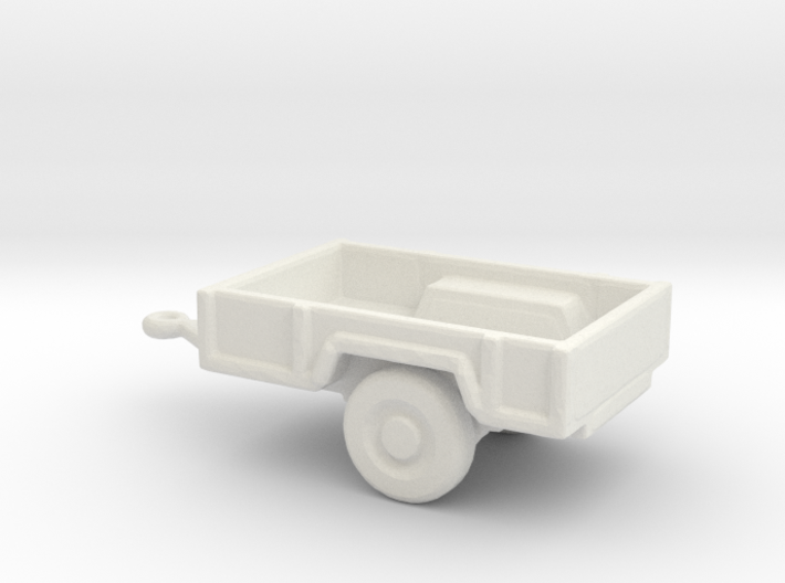 1/200 Scale M-101 Trailer 3d printed