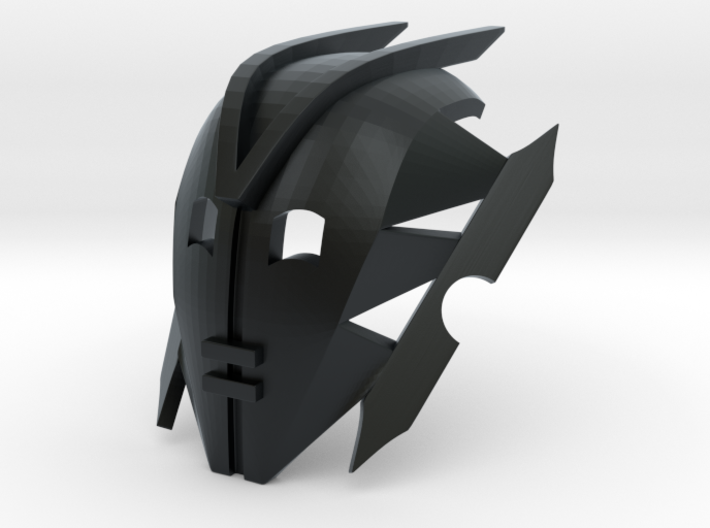 Kanohi Mask of Avidity 3d printed BEWARE: This material uses support structures which can obstruct details or vital parts.