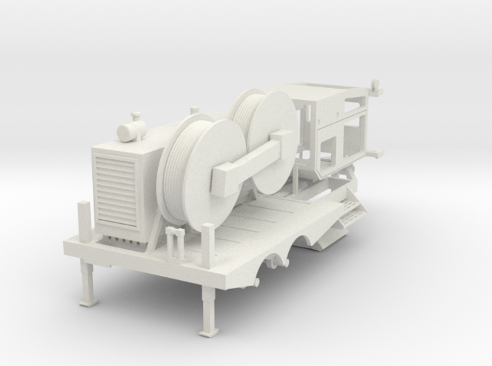 Cable Tensioner 1/24 ALL WHITE PARTS 3d printed