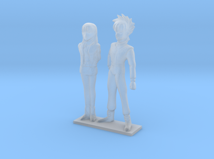 1/64 Racing Driver Couple 3d printed