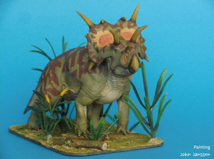 Xenoceratops (Small/Medium/Large size) 3d printed