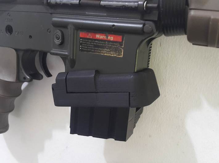BC Magwell for m4 3d printed