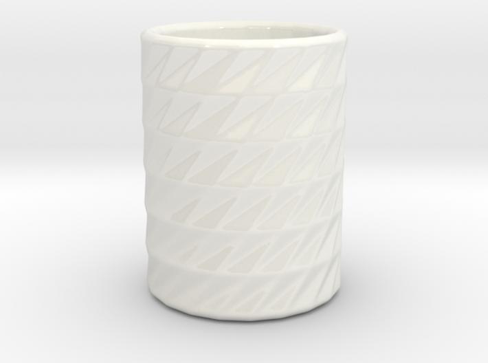 Swirl Mug 3d printed