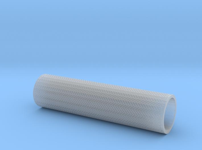 Herringbone bond roller 70mm (TT/H0) 3d printed