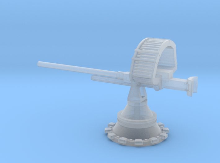 Browning M9 on PT boat mount 1/24 3d printed