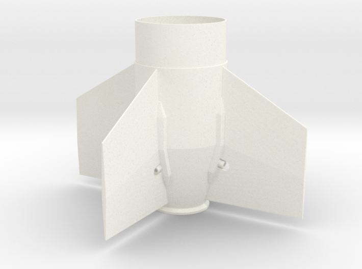 Arcas Fin Unit for BT-60 and 18mm motors 3d printed