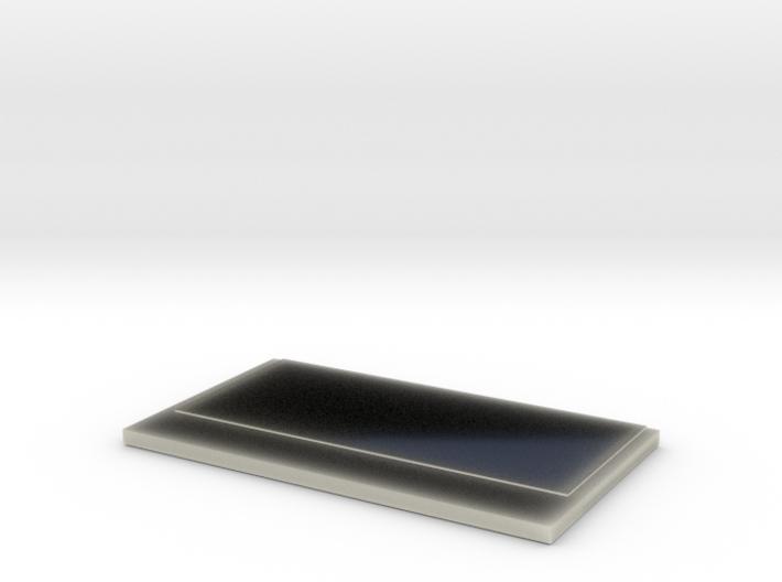 Transparent Paper Holder for Glasses Item holder 3d printed