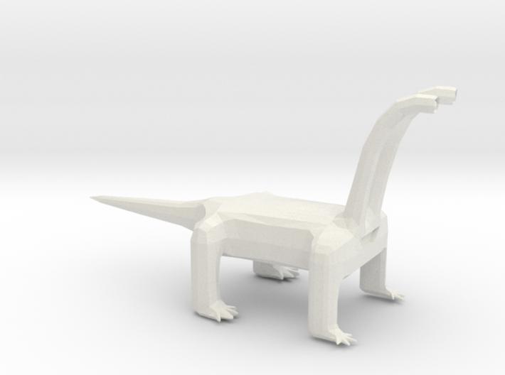 Long Neck Monster Alien 3d printed