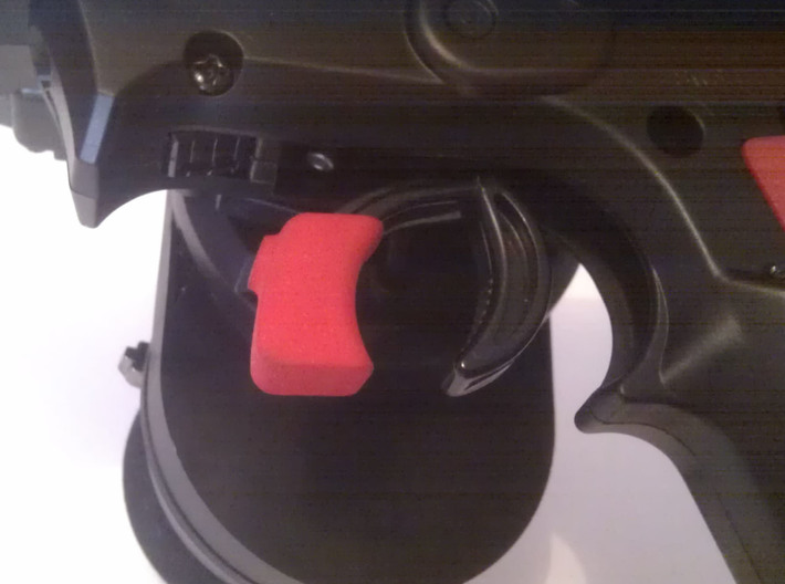 Cover for throttle trigger, Sanwa M12 , M12RS or M 3d printed photo monté