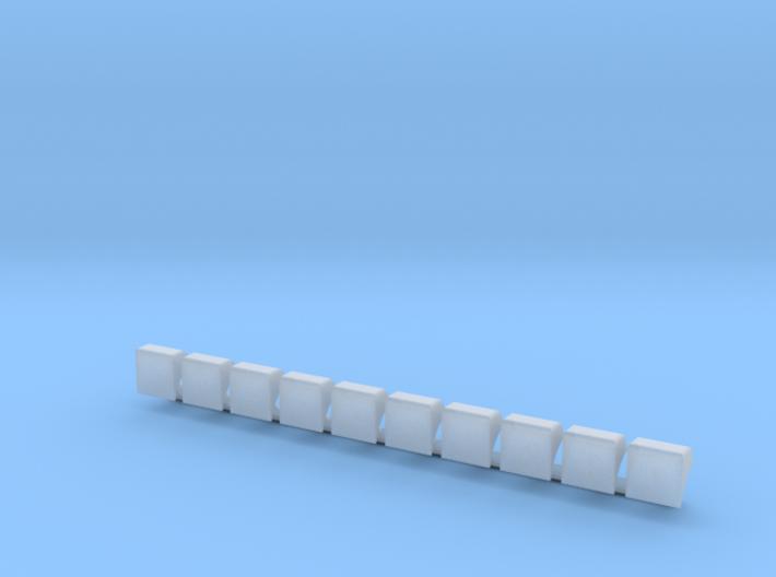 Liniennummernhauben 3d printed