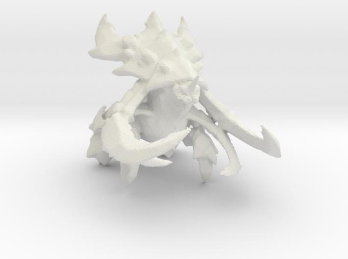 1/350 Ultralisk 3d printed
