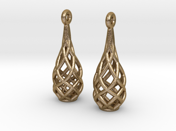 Earring Special A 3d printed