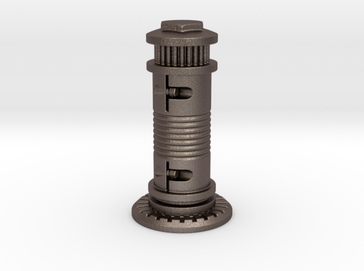 Steampunk Castle Chess Piece 3d printed