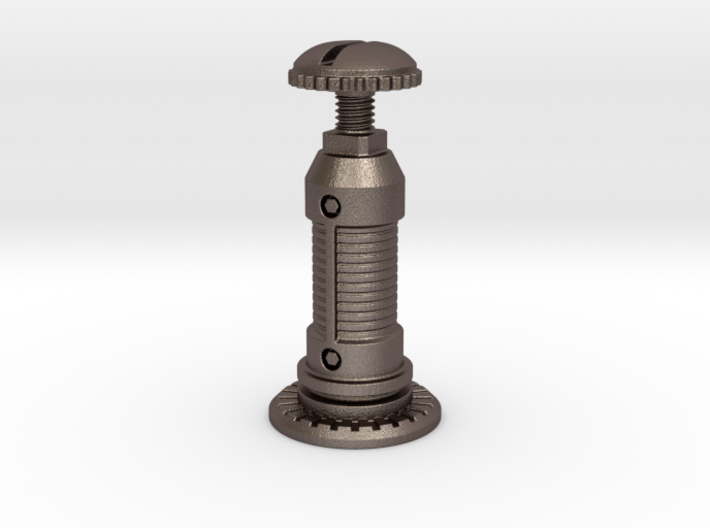 Steampunk Queen Chess Piece 3d printed