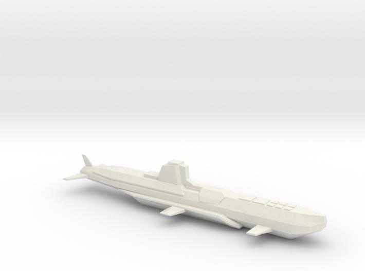 Submarine_stardust1 3d printed