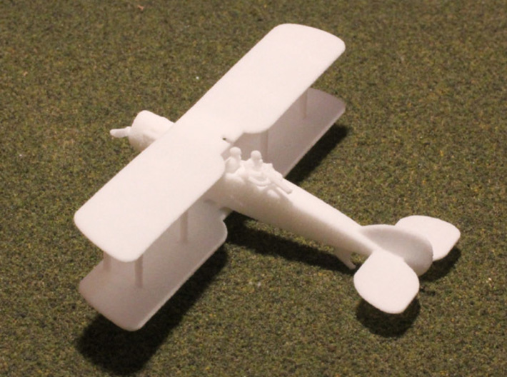 Bristol F.2B Fighter 3d printed Printed 1:144 Bristol Fighter in WSF