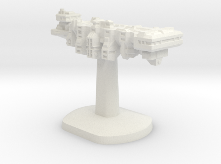 Tempus Nautica Board Game Piece - Player ship 3d printed