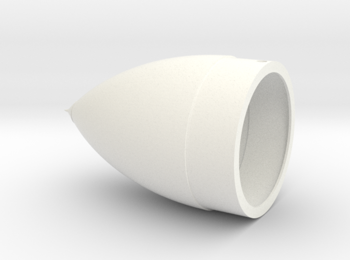 Space Shuttle ET Nose Cone 3d printed replacement part with more accurate detail
