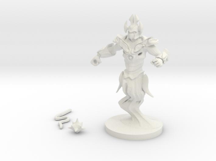 Air Elemental Myrmidon 3d printed