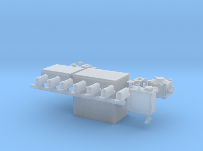 1-16th Generic interior panzer parts 2 3d printed