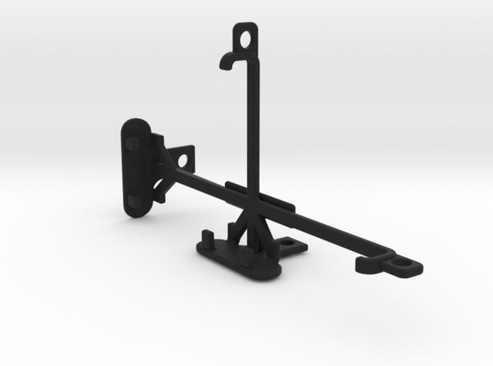 BLU Studio M HD tripod & stabilizer mount 3d printed