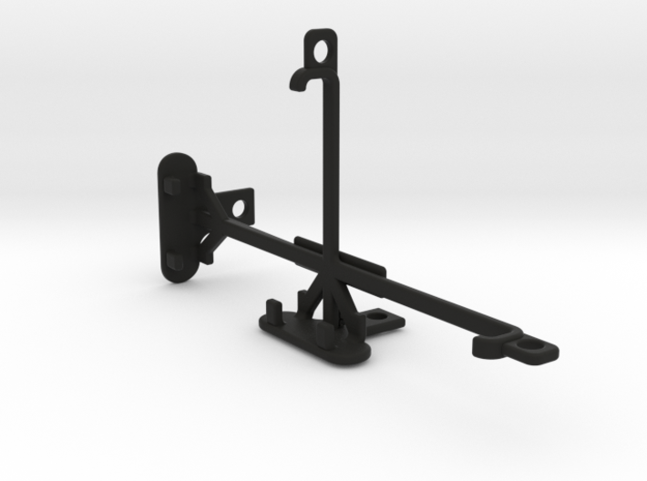 HTC One A9s tripod & stabilizer mount 3d printed