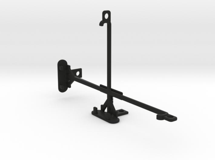 Huawei MediaPad X2 tripod & stabilizer mount 3d printed