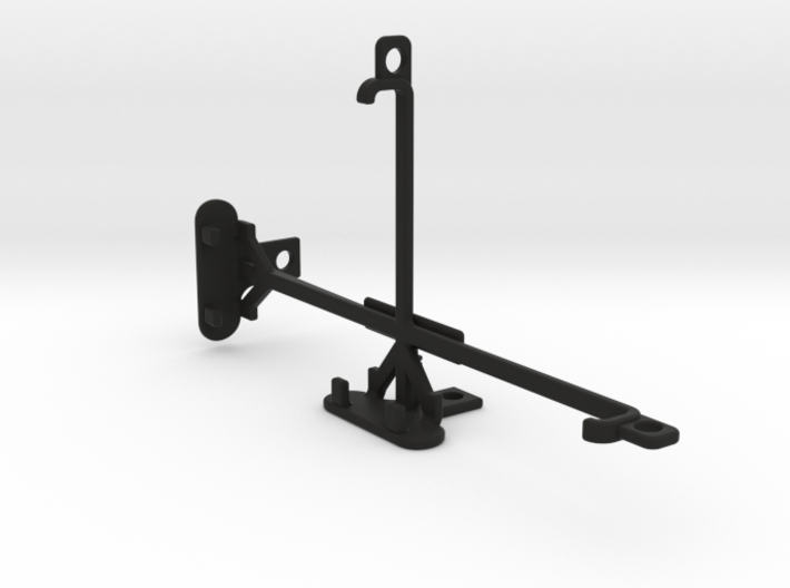 Maxwest Astro 6 tripod & stabilizer mount 3d printed