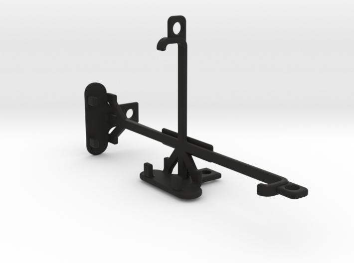 HTC One M9 tripod & stabilizer mount 3d printed