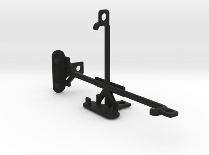 Sony Xperia M2 dual tripod & stabilizer mount 3d printed