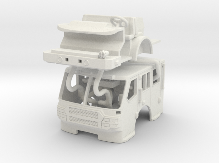 1/87 E-One Quest Flat Roof 3d printed