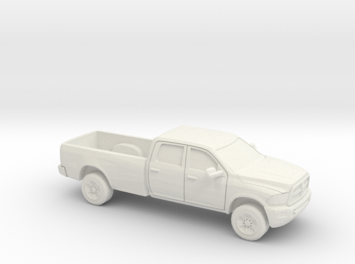 1/87 2013 Dodge Ram Crew Long Bed 3d printed