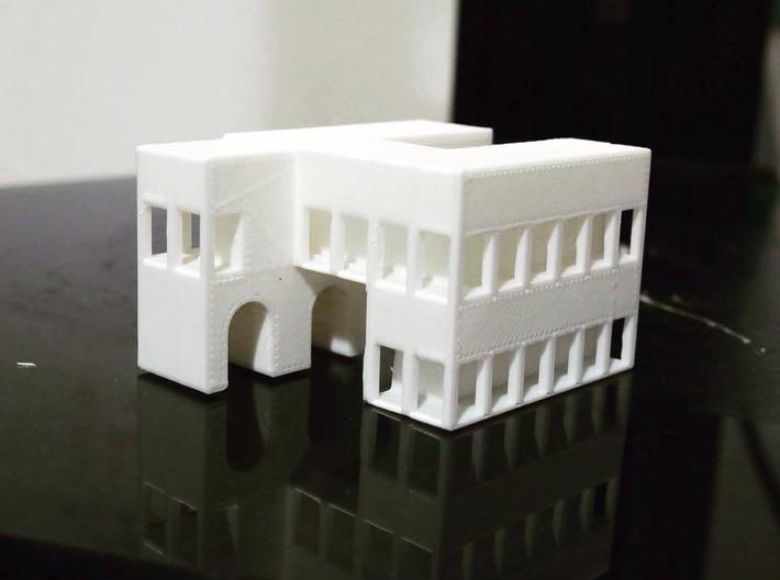 ARCH1(bottom) 3d printed real item