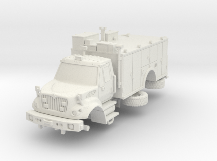 1/87 FDNY seagrave Tactical Support Unit 3d printed