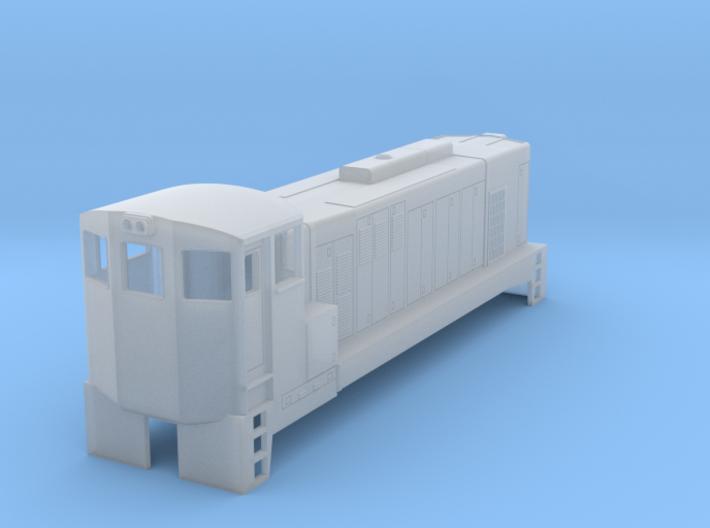 HO Scale EMD GA8 3d printed