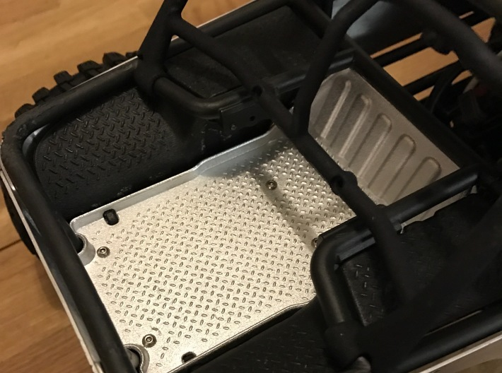 Axial Wraith Rear Inner Fenders 3d printed Printed in white. Painted black finish.