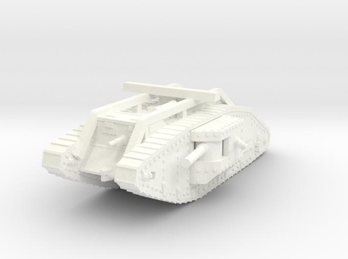 1/100 Mark V Male 3d printed