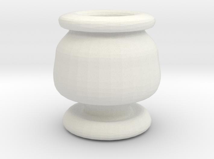 Mini Apothecary Pot - style 3 3d printed