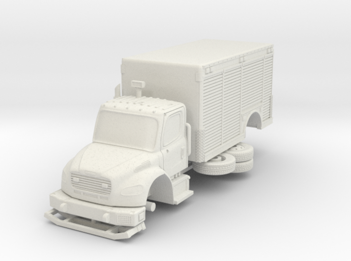 1/87 FDNY seagrave Mask Service Unit 3d printed