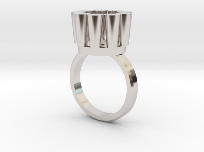 Lampadario Ring 3d printed